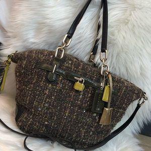 Coach cotton wool purse ‼️❤️